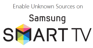 enable unknown sources on Samsung smart TV 2019