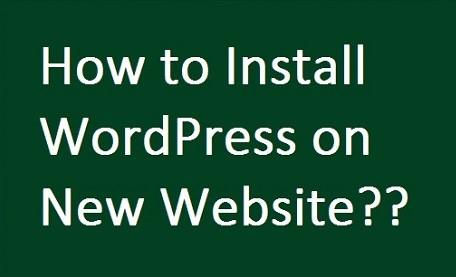 how to install wordpress on website from GoDaddy