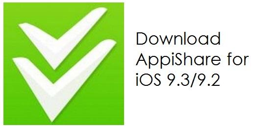 AppiShare for iOS 9.3