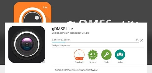Install gDMSS Lite for PC
