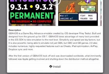 GBA4iOS iOS 11 install