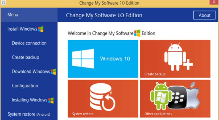 Change My Software 10 edition No Survey Free Download