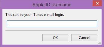Cydia Impactor Apple ID