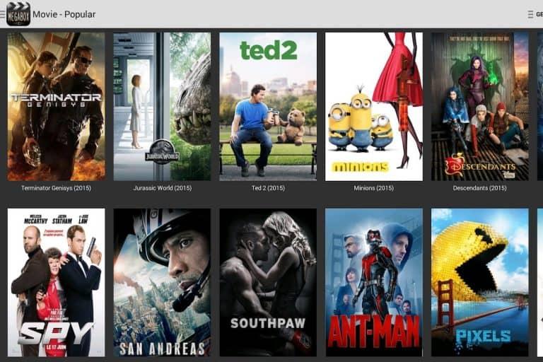 MegaBox HD for Fire TV Cube using Downloader